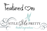 Style Me Pretty: Featured!